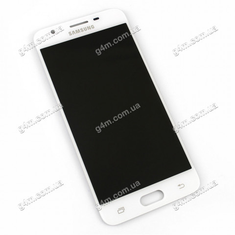 Дисплей Samsung G570 Galaxy On5 (2016), G570F/DS Galaxy J5 Prime с тачскрином, белый, снятый с телефона