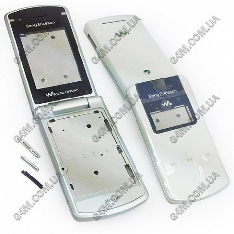 Корпус Sony Ericsson W508i белый (High Copy)