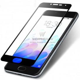 Защитное стекло Full Screen для Samsung J400 Galaxy J4 (2018) (3D стекло черного цвета)