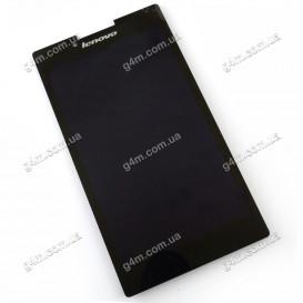 Дисплей Lenovo TAB2 A7-30, Tab 2 A7-30DC, Tab2 A7-30F с тачскрином черный (Оригинал)