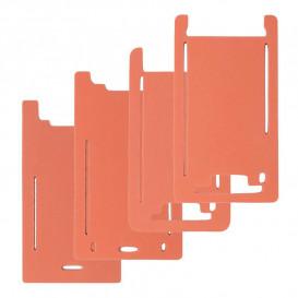 Форма резиновая для установки стекла с рамкой Apple iPhone X