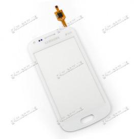 Тачскрин для Samsung S7562 Galaxy S Duos белый (High Copy)