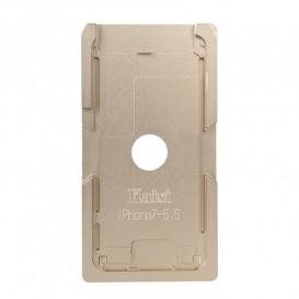 Форма металлическая для установки стекла с рамкой Apple iPhone 7 Plus: 5.5-дюйма (металлическая)