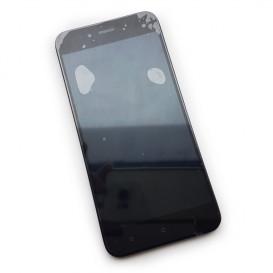 Дисплей Xiaomi Mi A1, Mi5x с тачскрином и рамкой, черный