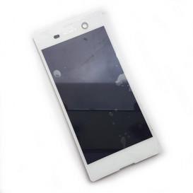 Дисплей Sony E5603 Xperia M5, E5606 Xperia M5, E5633 Xperia M5, E5653 Xperia M5, E5663 Xperia M5 Dual с тачскрином, белый