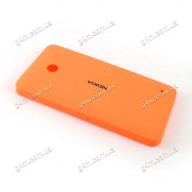 Задняя крышка для Nokia Lumia 630 оранжевая