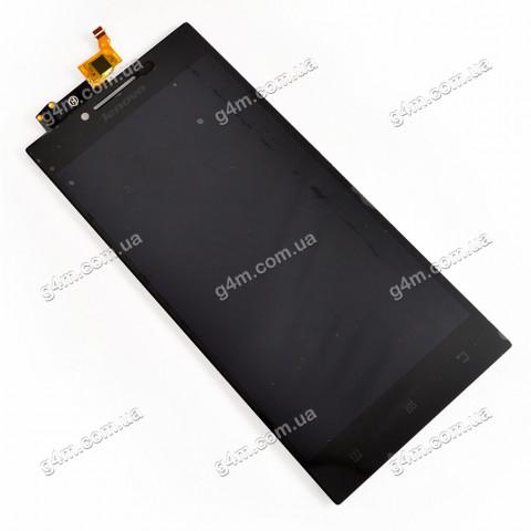 Дисплей Lenovo P70 с тачскрином, черный