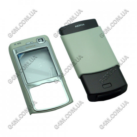 Корпус Nokia N70 белый (High Copy)