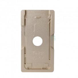 Форма металлическая для установки стекла с рамкой Apple iPhone 8 (металлическая)