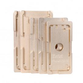 Форма металлическая для установки стекла с рамкой Apple iPhone X