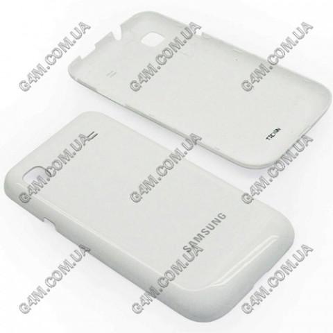 Задняя крышка для Samsung i9003 Galaxy SL белая (High Copy)