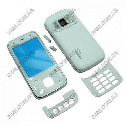Корпус Nokia N86 белый (High Copy)