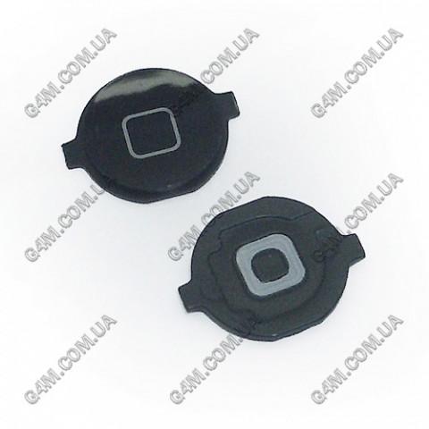 Внешняя кнопка меню Apple iPhone 4G черная
