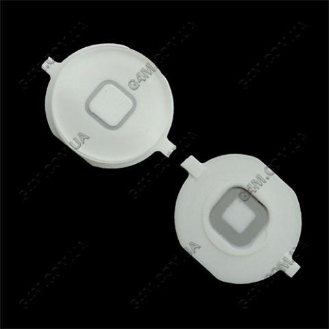 Внешняя кнопка меню Apple iPhone 4S белая
