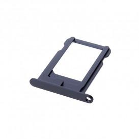 Держатель Sim карты Apple iPhone 5S черный