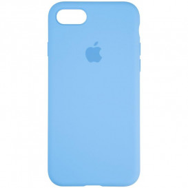 Чехол накладка Original Full Soft Case для Apple iPhone 7, iPhone 8 , iPhone SE (цвет голубой)