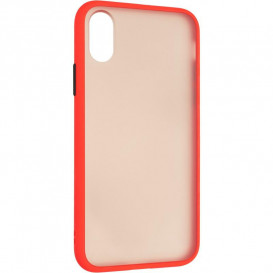 Накладка Gelius Bumper Mat для Apple iPhone 12 Pro Max (красного цвета)