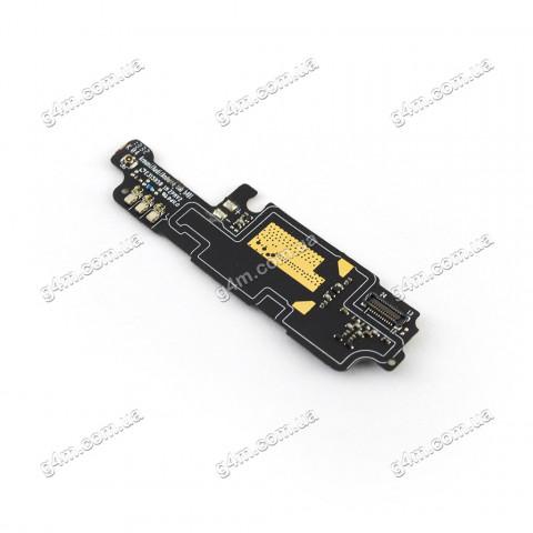 Плата сети (нижняя плата) Lenovo A706 с вибратором, микрофоном и компонентами