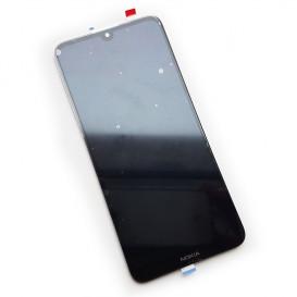 Дисплей Nokia 3.2, TA-1156 с тачскрином, черный (Оригинал)