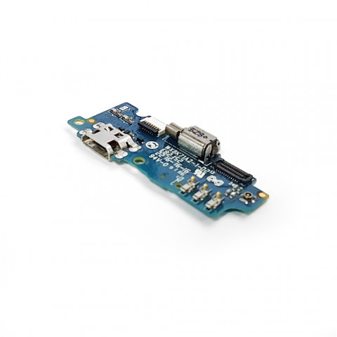 Плата разъема зарядки Meizu M2, M2 mini с компонентами