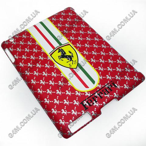 Накладка пластиковая Ferrari для iPad 2