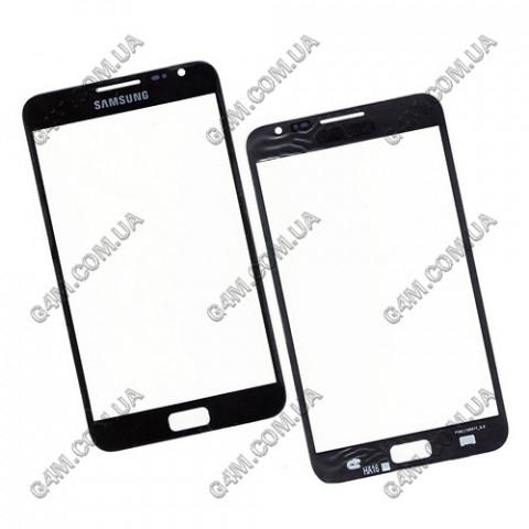 Стекло сенсорного экрана для Samsung N7000, i9220 Galaxy Note черное
