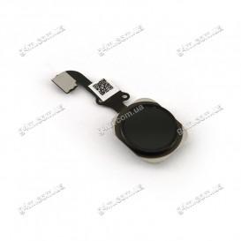 Шлейф Apple iPhone 6 для кнопки меню в сборе, черный