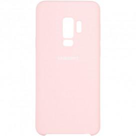 Чехол накладка Soft Matte Case для Samsung G965 (S9 Plus) розовая