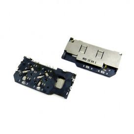 Коннектор Sim карты для Sony ST27i Xperia Go