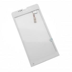 Тачскрин для Sony C5302, C5303 M35h, C5306 M35i Xperia SP белый