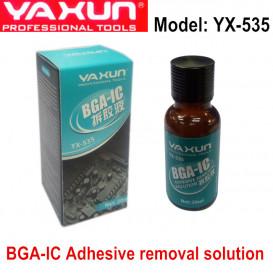 Жидкость YX-535 для снятия эпоксидного компаунда с микросхем в телефонах iPhone и Samsung (20 ml)