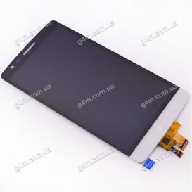 Дисплей LG G3s D724 с тачскрином, белый (Оригинал)