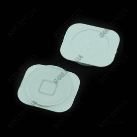 Внешняя кнопка меню Apple iPhone 5 белая