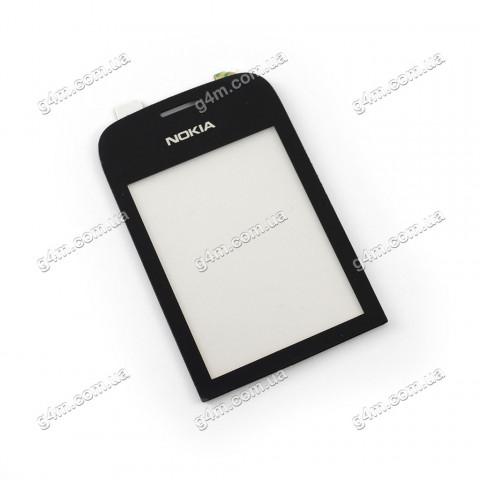 Тачскрин для Nokia Asha 202 с клейкой лентой