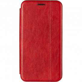Чехол-книжка Gelius для Xiaomi Redmi Note 9 красного цвета