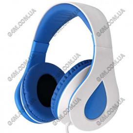 Гарнитура GORSUN GS-C7702 бело-голубая