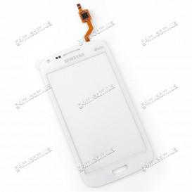 Тачскрин для Samsung i8260 Galaxy Core, i8262 Galaxy Core белый (High copy)