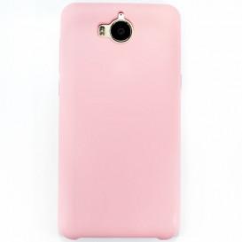Накладка Original Soft Case для Huawei Y5 (2017 года) (розового цвета)