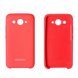 Накладка Original Soft Case для Huawei Y3 (2017 года) (красного цвета)
