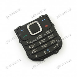 Клавиатура Nokia 1680 черная, кириллица, снятая с телефона, Оригинал