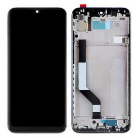 Дисплей Xiaomi Redmi Note 7 с тачскрином и рамкой, черный