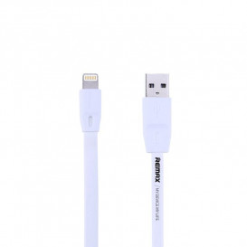 USB дата-кабель Remax Full Speed RC-001i Lightning для Apple iPhone белый 1м