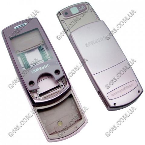 Корпус Samsung J700 розовый (High Copy)
