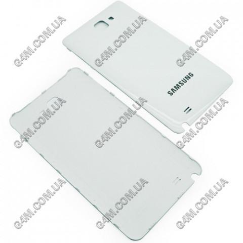 Задняя крышка для Samsung N7000, i9220 Galaxy Note белая (High Copy)