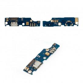 Плата разъема зарядки Meizu M2 Note с компонентами