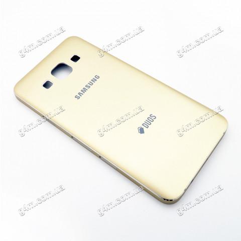 Корпус Samsung A300 Galaxy A3, A300F Galaxy A3, A300FU Galaxy A3, A300H Galaxy A3 золотистый