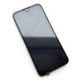 Дисплей Huawei Honor 8s с тачскрином и рамкой, черный (Оригинал)