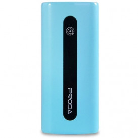 УМБ Power Bank  Proda E5 Power Box 5000mAh голубая