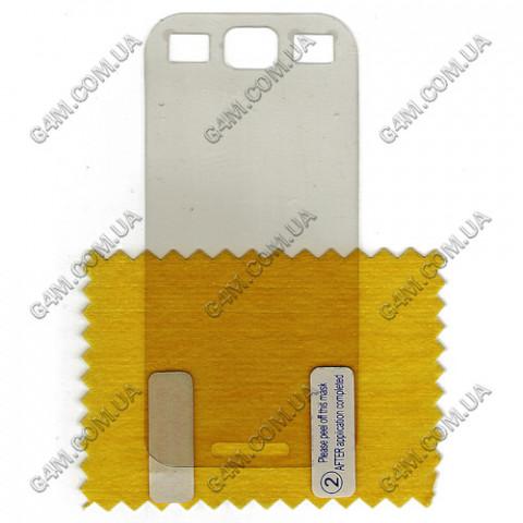 Защитная плёнка для Samsung S5250 прозрачная глянцевая