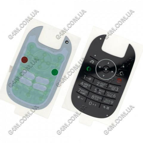 Клавиатура Motorola U9 черная,  русская (High Copy)